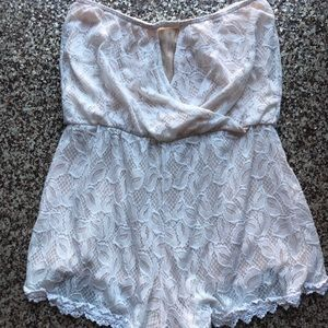 Strapless Romper by Free People